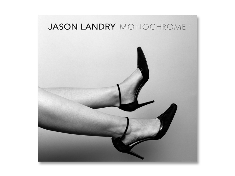 CD packaging design for Jason Landry's latest music compilation.